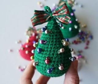 10 Patrones Gratuitos de Árboles de Navidad en Amigurumi | Navidad ... | 274x320