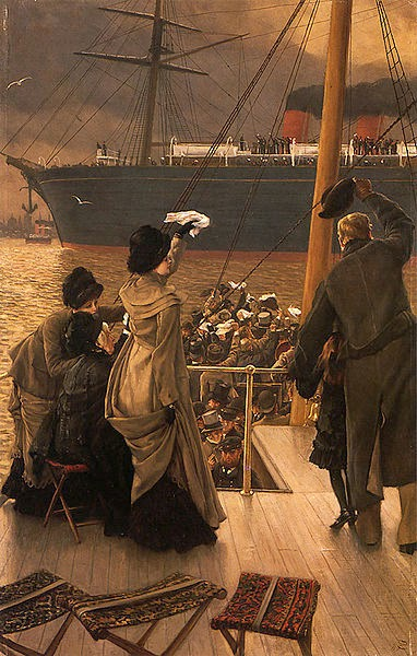 Adeus no Mersey - As principais pinturas de James Tissot ~ Francês