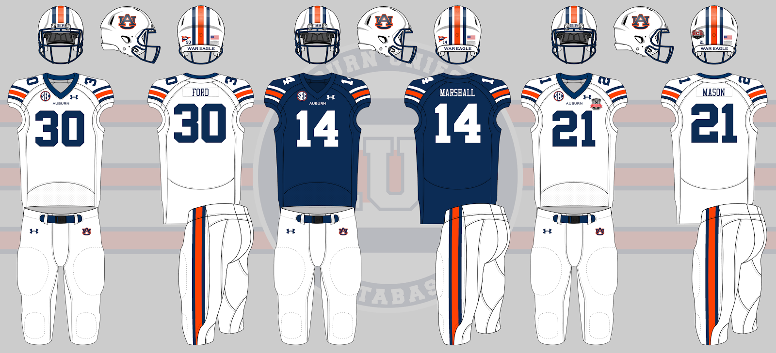 2013 auburn football uniforms bcs championship c48d6756c