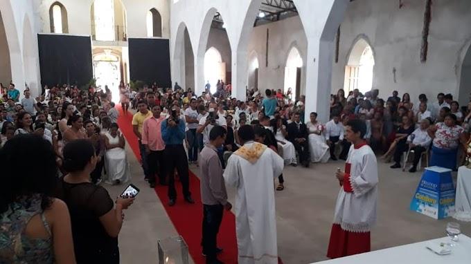 Festa de Nossa Senhora da Boa Esperança 2018: casamento comunitário