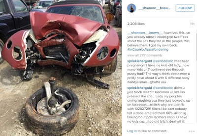 shannon brown car accident
