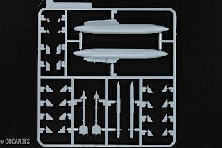 F-4J Phantom II Zoukei Mura Pièces - Parts 6/9