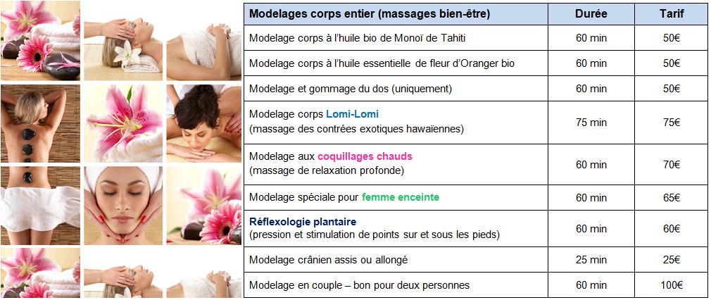massage calais