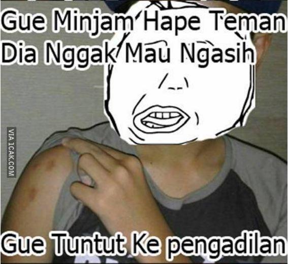 15 Meme Guru Mencubit Siswa, Haduh Ngakak Sampek Mules...