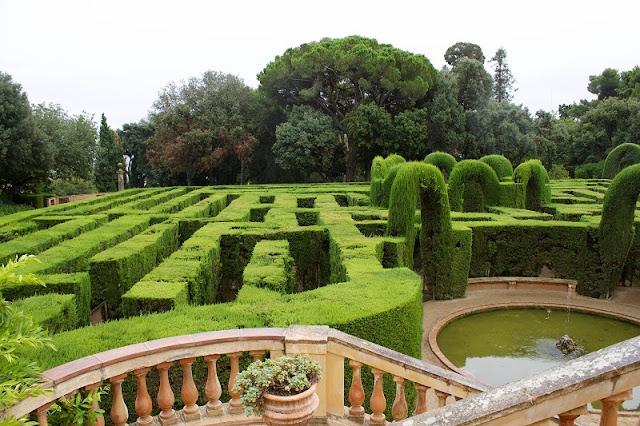 Jardins del Labertin d'Horta em Barcelona