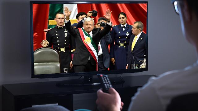 Toma de protesta de AMLO estuvo al nivel de la final del Mundial en audiencia
