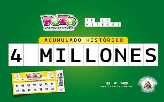 numeros ganadores sorteo pozo millonario 563
