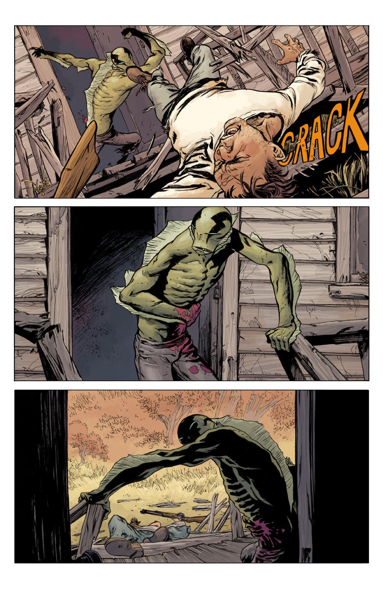 Read online Abe Sapien comic -  Issue #12 - 22