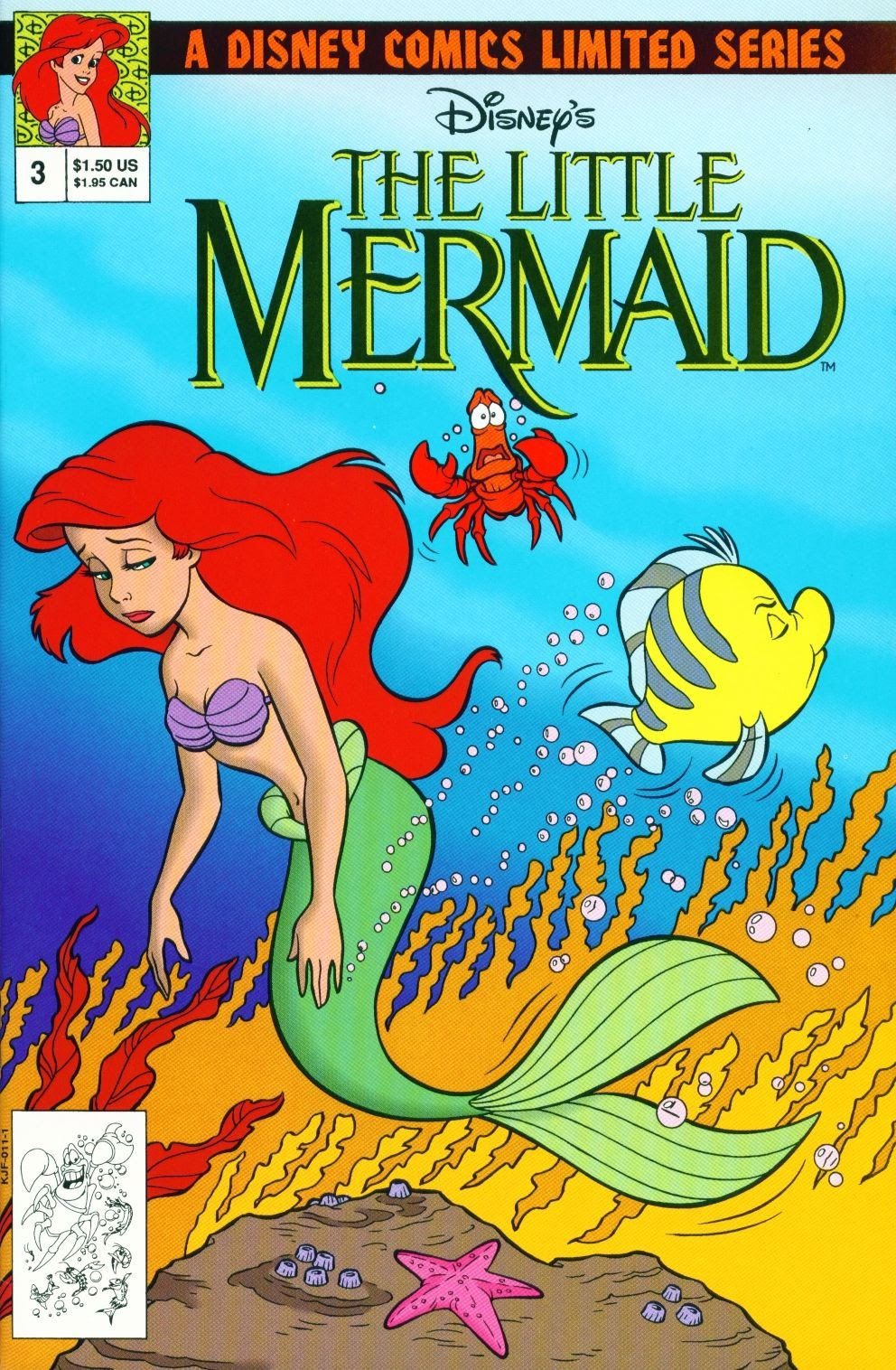 Disneys The Little Mermaid Limited Series 3 Page 1