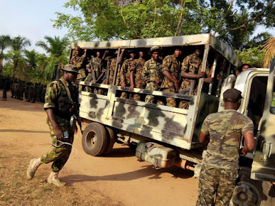 Soldiers Storm Kogi Community Where Herdsmen Allegedly Murdered Innocent People