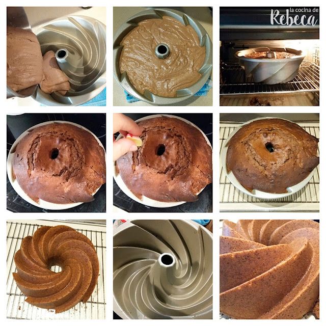 Receta de bundt cake de chocolate 04