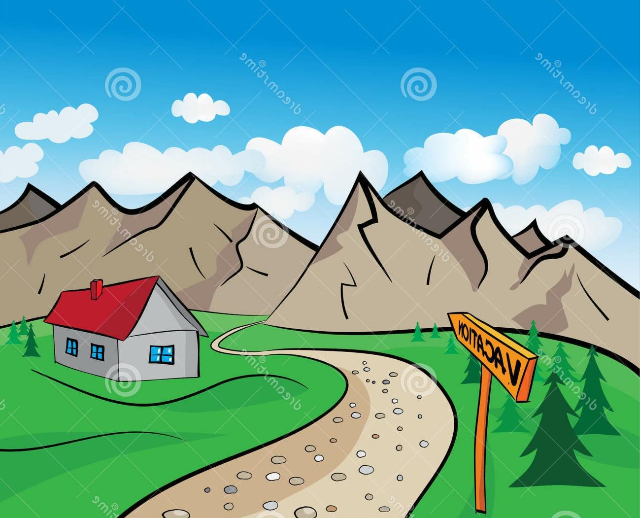 koleksi sketsa gambar rumah
