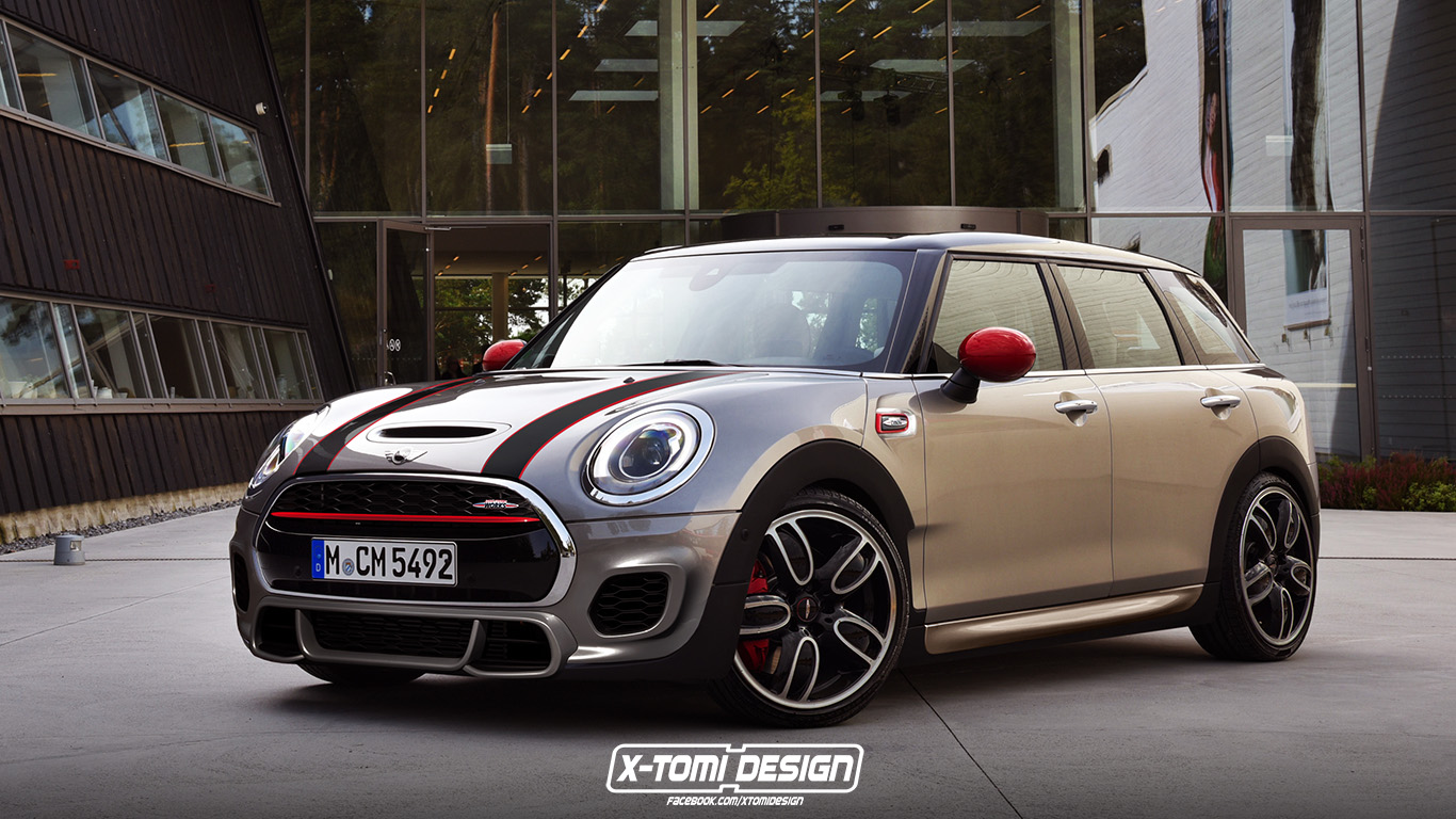 X-Tomi Design: Mini John Cooper Works Clubman
