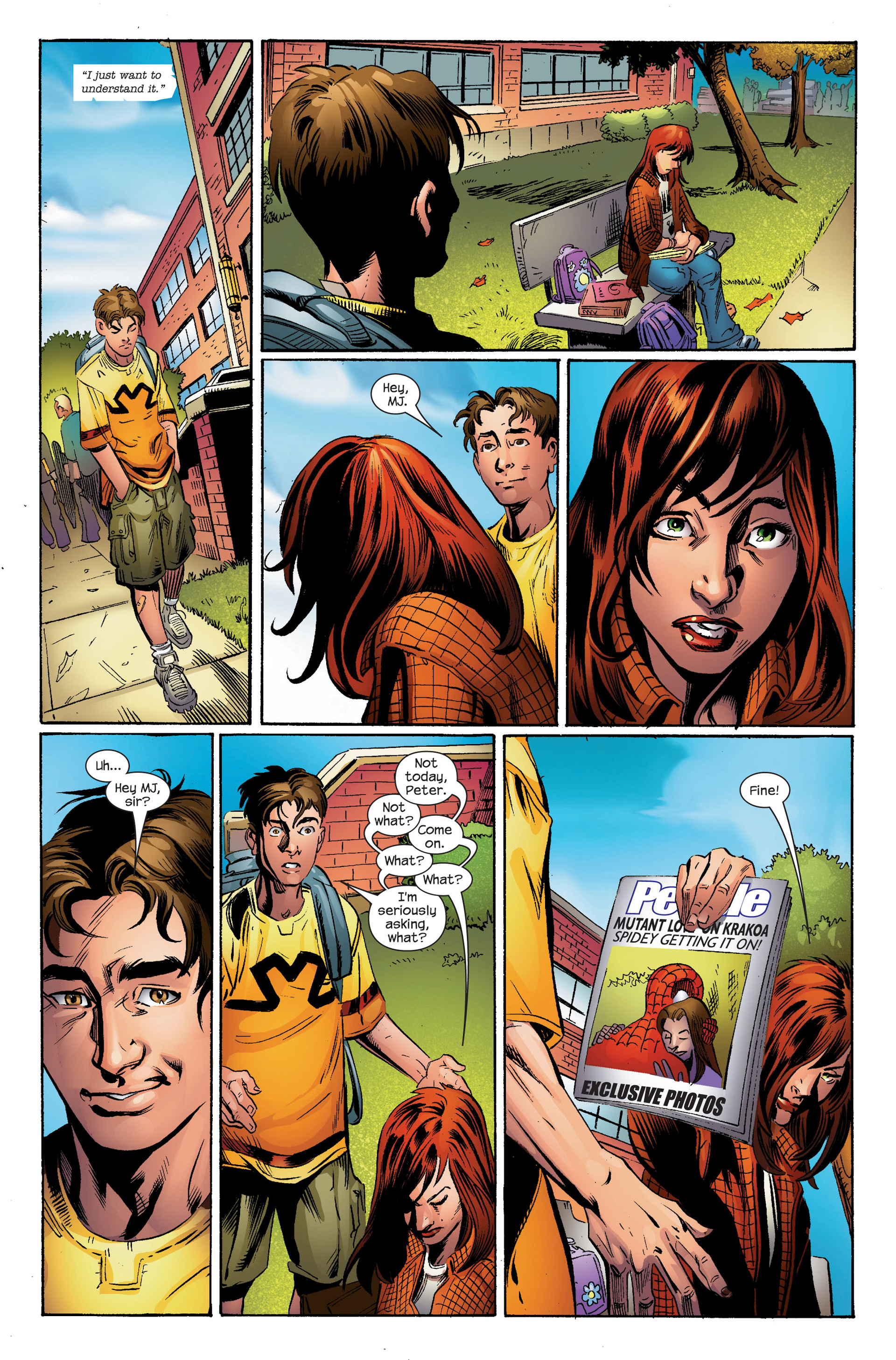 Read online Ultimate Spider-Man (2000) comic -  Issue #95 - 14