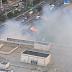 Incêndio em vegetação no Carrefour zona sul