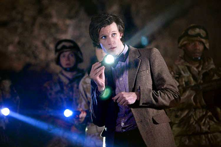 Matt Smith stars as Doctor Who on the BBC.