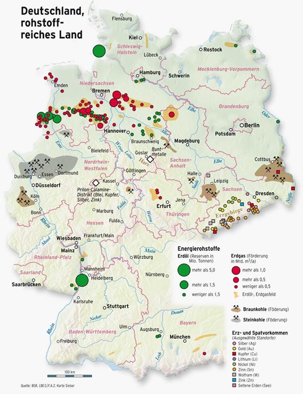 Rohstoffe In Deutschland