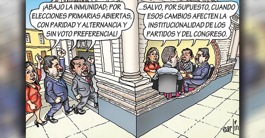 Carlincaturas Lunes 2 Marzo 2020 - La República