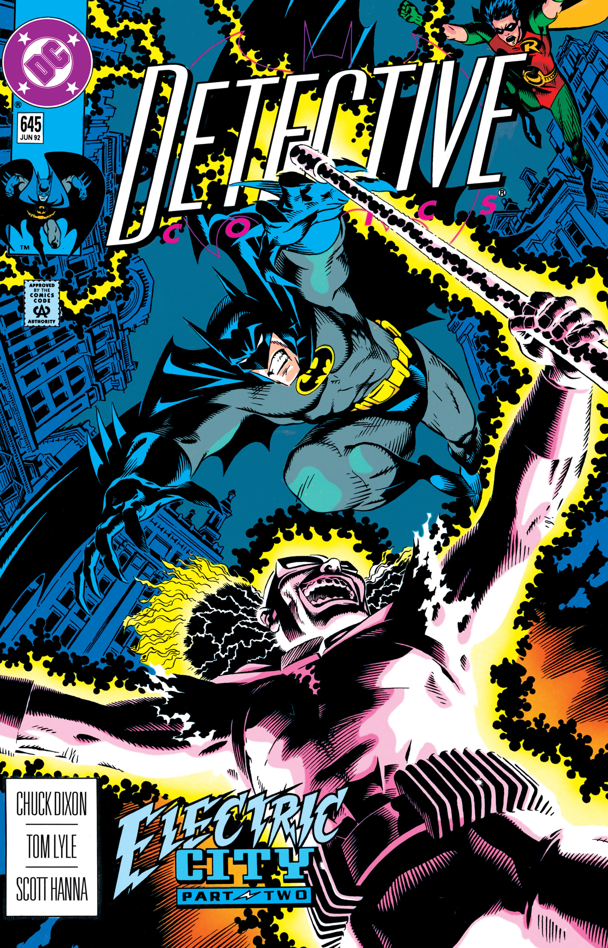 Detective Comics (1937) 645 Page 1