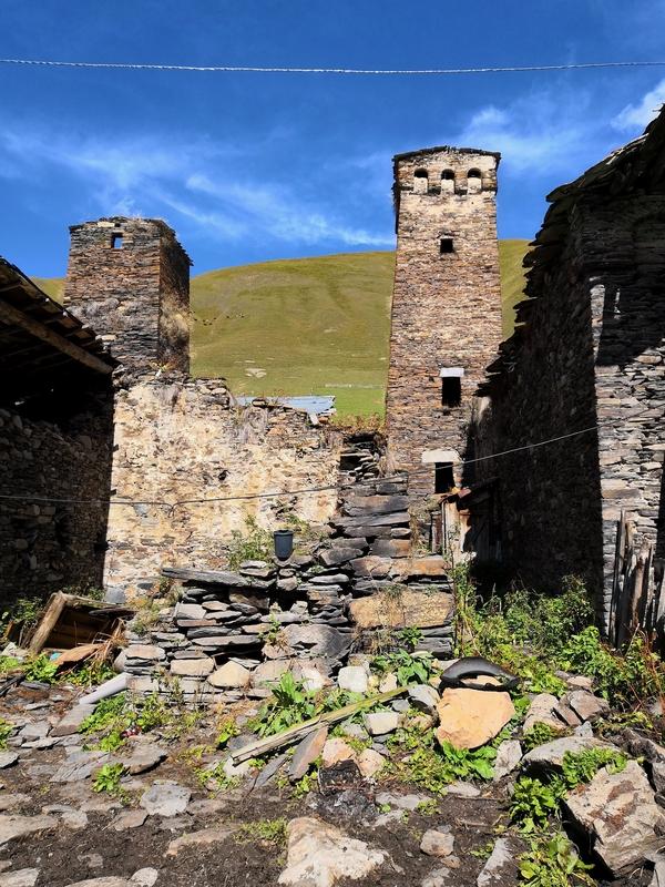 Деревня Муркмели в Сванетии