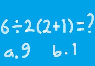 6÷2(2+1) = ?