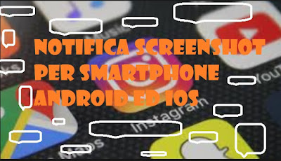 Notifiche screenshot Instagram per smartphone iOS ed Android