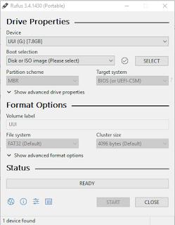 Cara aman, mudah dan Cepat Membuat Bootable Windows Untuk Melakukan Install Ulang Windows Kita