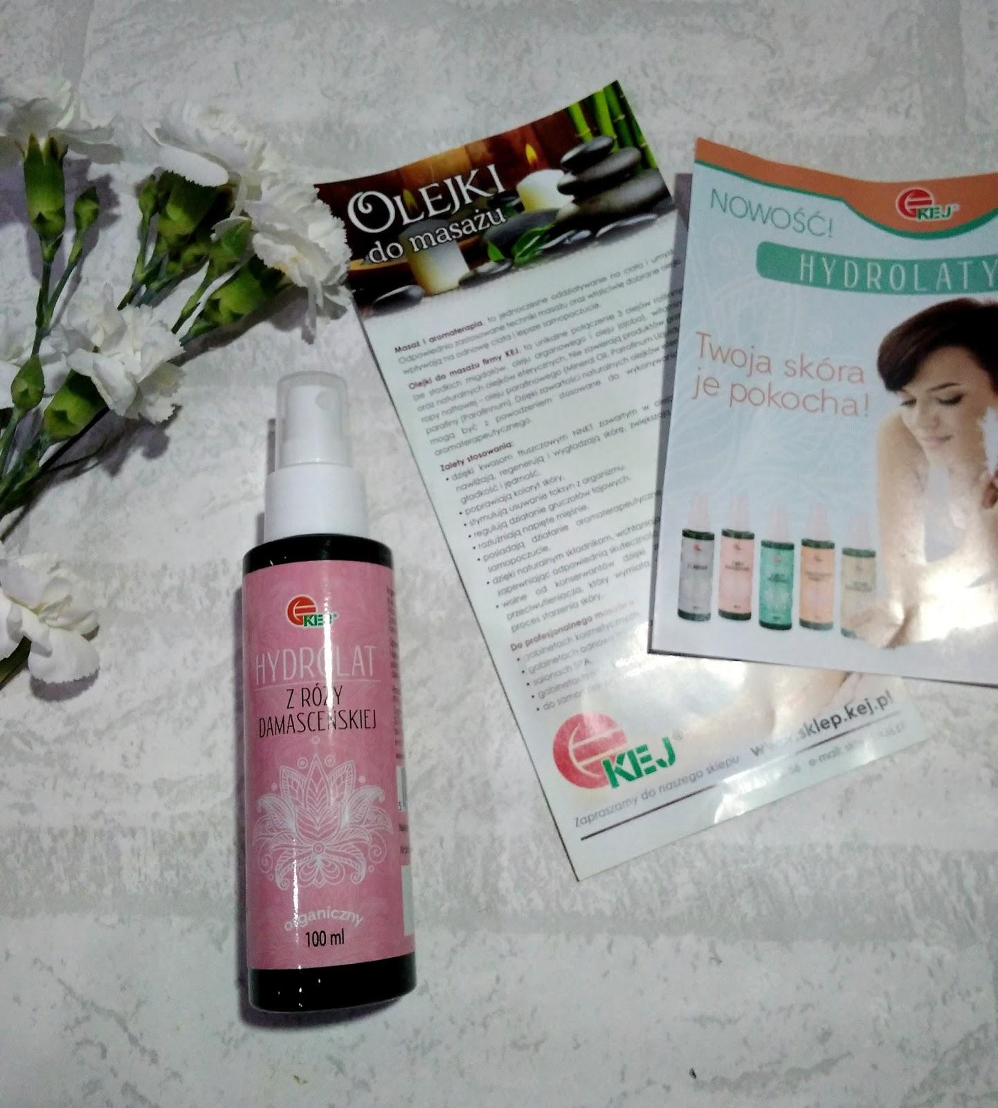 Hydrolat z róży damasceńskiej marki Kej - ulubieniec wśród toników