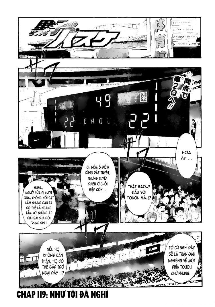 Kuroko No Basket chap 119 trang 1
