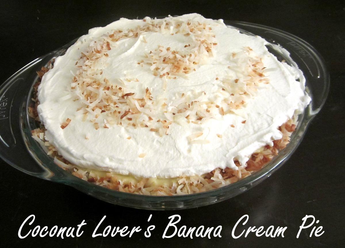 Reviews, Chews  How-Tos Coconut Lovers Banana Cream Pie-8287