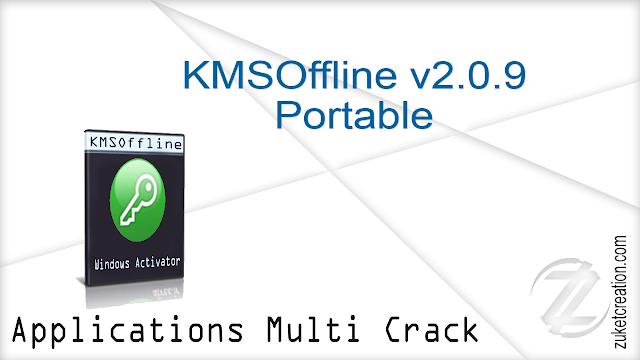 KMSOffline v2.0.9 Portable   |  5.42 MB