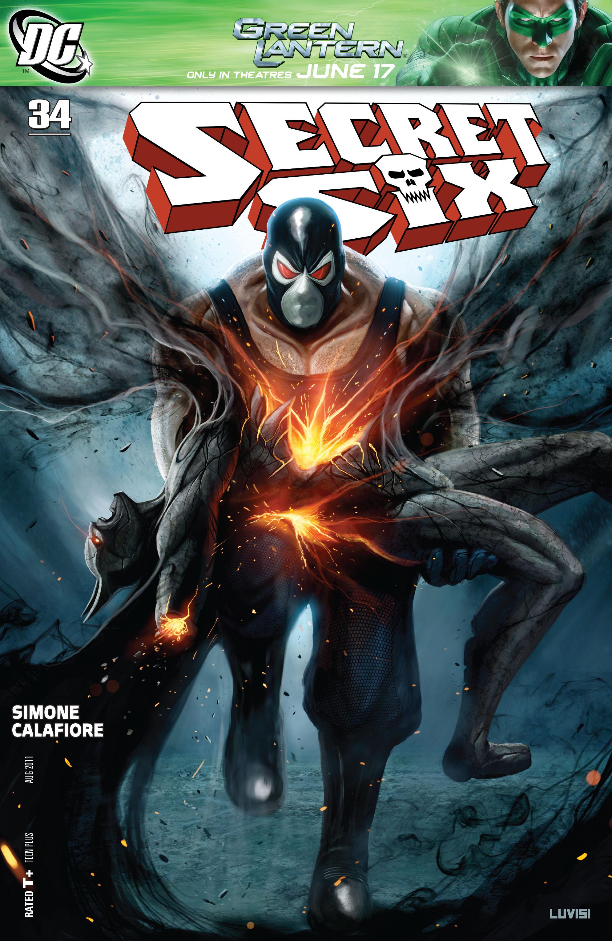 Read online Secret Six (2008) comic -  Issue #34 - 1