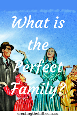 "Do you have an unreal expectation of what makes the ""perfect"" family?"