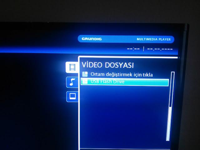 lcd tv flash bölümüne giriş