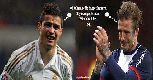 Cristiano Ronaldo Sedih, Beckham Sedih, Menangis, Lagu Sedih