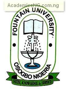 Fountain University 2017 Admission Screening