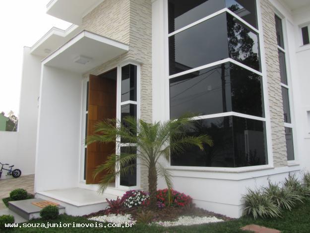 pedras de jardim branca: Casa Clean: Jardins Externos!!! Fachadas com plantas, gramas e pedras