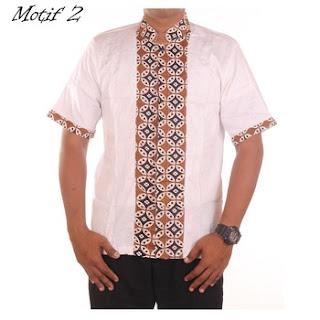 gambar baju koko batik kombinasi