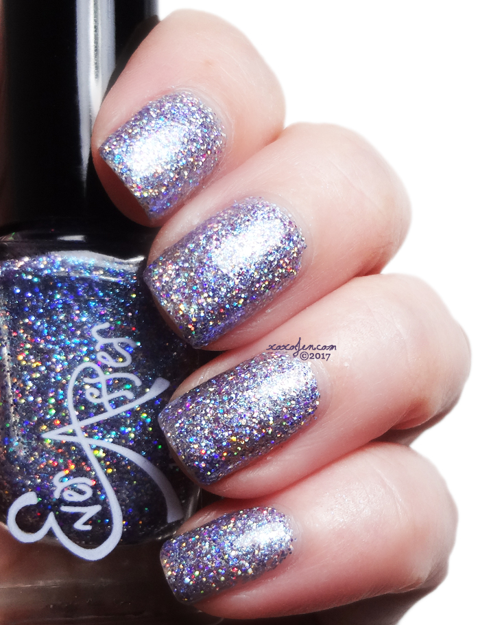 xoxoJen's swatch of Ever After Lucy In The Sky With Diamonds