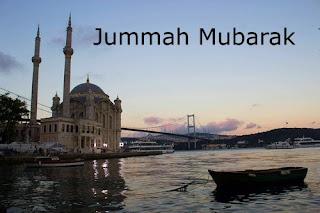 jumma mubarak card