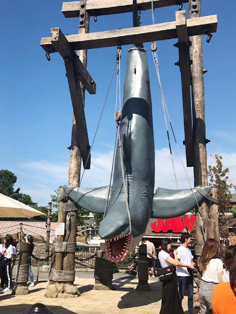 attraction Les Dents de la Mer Unversal Studios Japan
