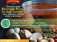 Peluang Reseller Sambal Bu Kaji Untuk Penjual Pecel Sayur