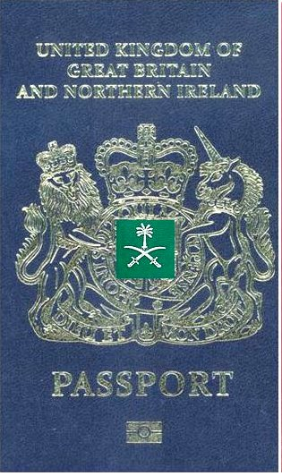 """Brits"" who are racist against EU citizens but dare not criticize muslims - here's your passport."