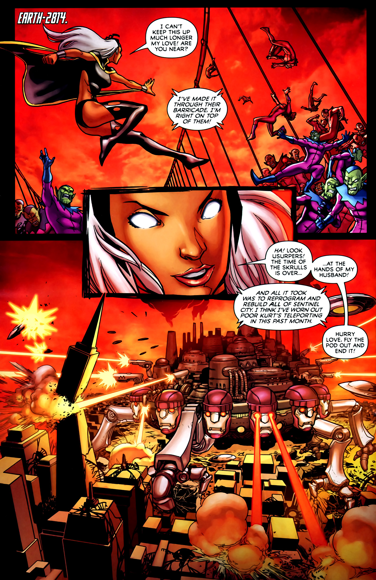 Read online Exiles (2009) comic -  Issue #1 - 10