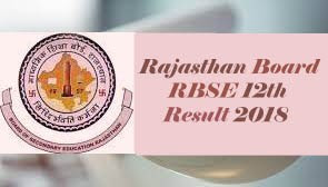RBSE Result 2018, RBSE 12th Results 2018, Rajasthan Board 12th Arts Result 2018, Rajasthan Board 12th Science Result 2018