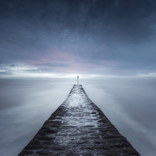 """Dawlish breakwater"" por Neil Burnell"