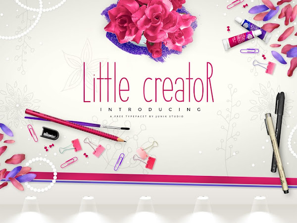 Download Little Creator Hand Painted Font Free