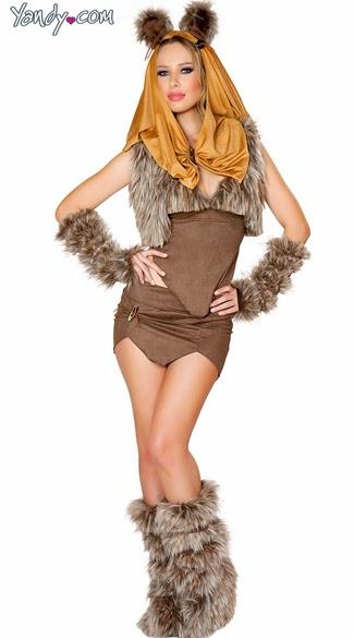 Sexy yoda costume
