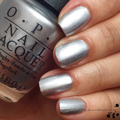 Swatch of I Drive a SuperNova nail polish by OPI