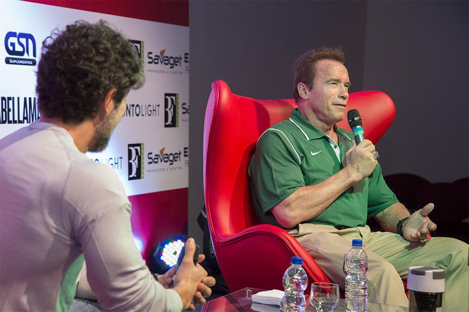 Arnold no Showcase do ano passado. Foto: Divulgação